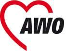 Logo AWO Soziale Dienstleistungen mit Herz!